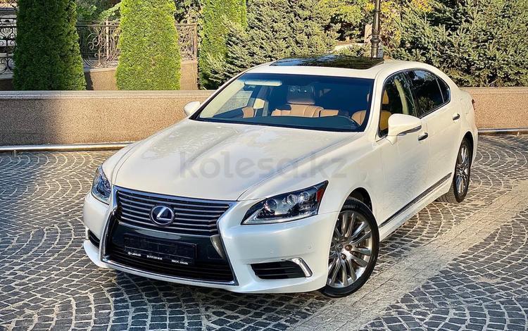 Lexus LS 600h 2014 года за 19 500 000 тг. в Алматы