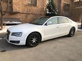 Audi A8 2011 года за 9 800 000 тг. в Алматы