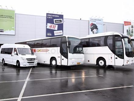 Перевозка пассажиров на комфортабельных микроавтобусах и автобусах в Шымкент – фото 30