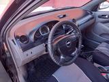 Chevrolet Lacetti 2006 года за 1 300 000 тг. в Актобе – фото 3