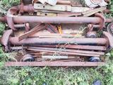 Ося прицепа со ступицами в Костанай