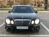 Бампер передний на мерседес W211 рестайлинг AMG за 60 000 тг. в Алматы