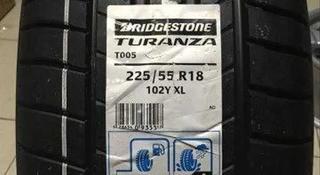Шины Bridgestone 225/55/r18 T005 за 52 500 тг. в Алматы