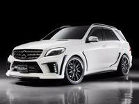 Передний бампер Wald Black Bison для W166 ML Mercedes за 150 000 тг. в Алматы