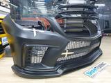 Передний бампер Wald Black Bison для W166 ML Mercedes за 150 000 тг. в Алматы – фото 5