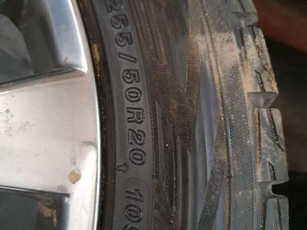 4Шт титанка ориг, и 4 шт шины летние 4шт липучка Yokohama за 350 000 тг. в Жезказган – фото 5
