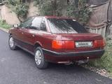 Audi 80 1991 года за 1 000 000 тг. в Шу – фото 3