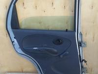 Дверь дэу матиз задняя левая за 444 тг. в Костанай