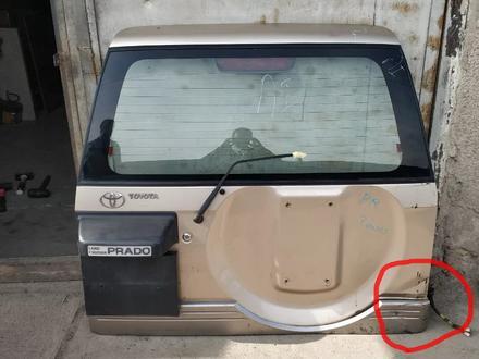 Дверь багажника Prado j95 за 70 000 тг. в Алматы