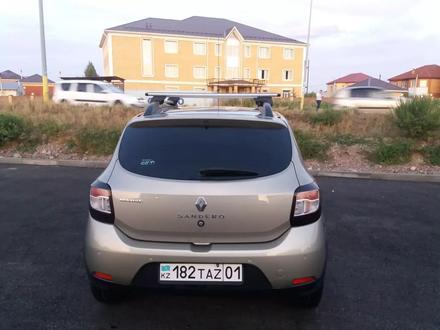 Renault Sandero Stepway 2014 года за 3 400 000 тг. в Нур-Султан (Астана) – фото 4