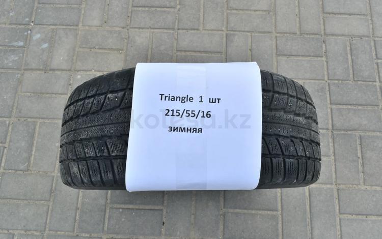 Зимняя резина с диском бу Triangle 215/55/16 за 15 000 тг. в Атырау