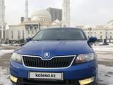 Skoda Rapid 2014 года за 4 400 000 тг. в Нур-Султан (Астана) – фото 2