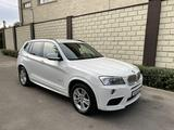 BMW X3 2012 года за 11 700 000 тг. в Алматы – фото 2