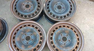 Оригинальные железные диски на Ауди 100, А4 R15 (Германия 5*112 ЦО за 12 000 тг. в Нур-Султан (Астана)