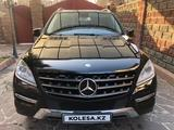 Mercedes-Benz ML 350 2012 года за 12 800 000 тг. в Алматы – фото 2