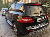 Mercedes-Benz ML 350 2012 года за 12 800 000 тг. в Алматы – фото 4