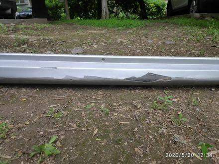 Накладка на порог пластик правый на martix 2 за 10 000 тг. в Алматы – фото 3