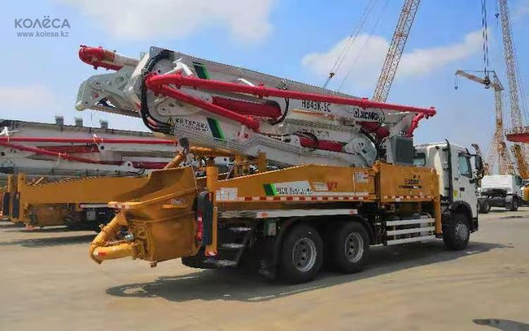 Howo  HB37V Шасси HOWO - Насос завод XCMG -оригинал с завода 2021 года за 75 000 000 тг. в Актау