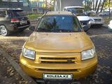 Land Rover Freelander 2002 года за 2 250 000 тг. в Алматы – фото 2