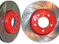 Перфорированные тормозные диски Gerat Original передние на Toyota Mark II за 22 000 тг. в Алматы