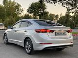Hyundai Elantra 2017 года за 6 600 000 тг. в Шымкент – фото 5