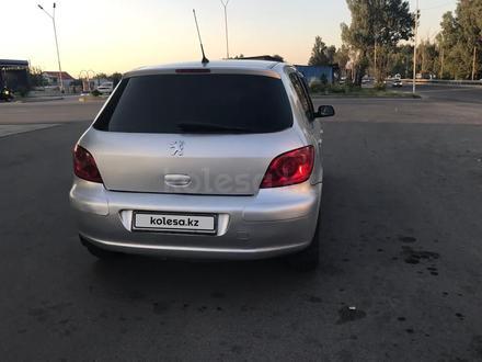 Peugeot 307 2005 года за 2 200 000 тг. в Алматы – фото 10