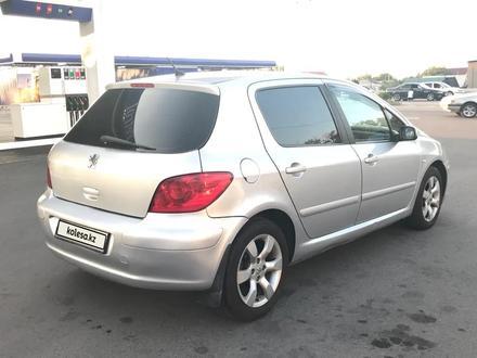 Peugeot 307 2005 года за 2 200 000 тг. в Алматы – фото 6