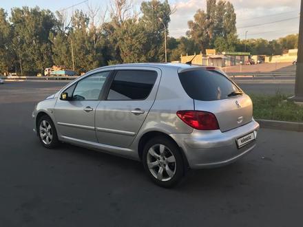Peugeot 307 2005 года за 2 200 000 тг. в Алматы – фото 7