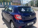 Renault Sandero 2015 года за 3 350 000 тг. в Нур-Султан (Астана) – фото 5