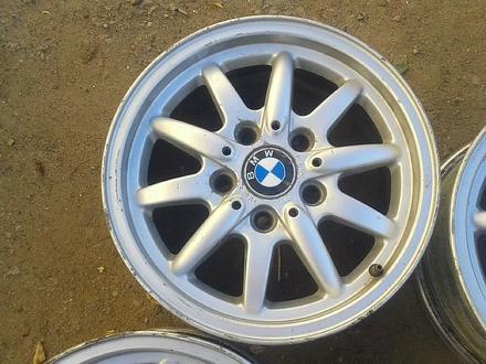 Оригинальные легкосплавные диски 27 стиль на BMW (Германия R15 5*1 за 80 000 тг. в Нур-Султан (Астана) – фото 5