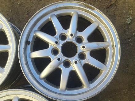 Оригинальные легкосплавные диски 27 стиль на BMW (Германия R15 5*1 за 80 000 тг. в Нур-Султан (Астана) – фото 7