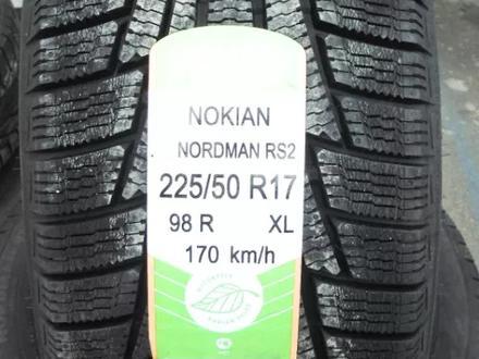 Шины Nokian 225/50/r17 Nordman rs2 за 40 500 тг. в Алматы – фото 2