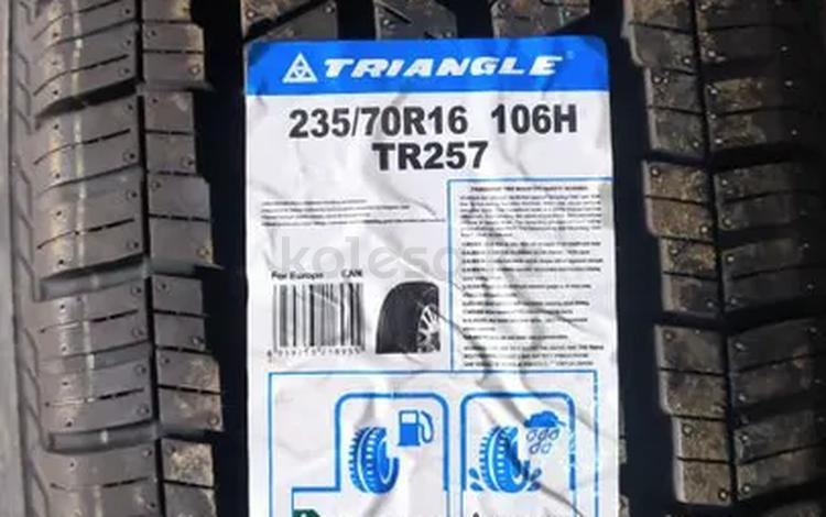 235 70 r16 Triangle TR 257 106 H THW10 за 23 000 тг. в Алматы