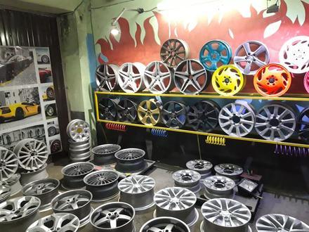 Порошковая покраска дисков в Алматы – фото 72