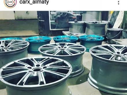 Порошковая покраска дисков в Алматы – фото 87
