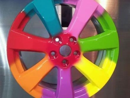 Порошковая покраска дисков в Алматы – фото 35