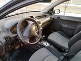 Peugeot 206 2004 года за 1 100 000 тг. в Алматы – фото 5