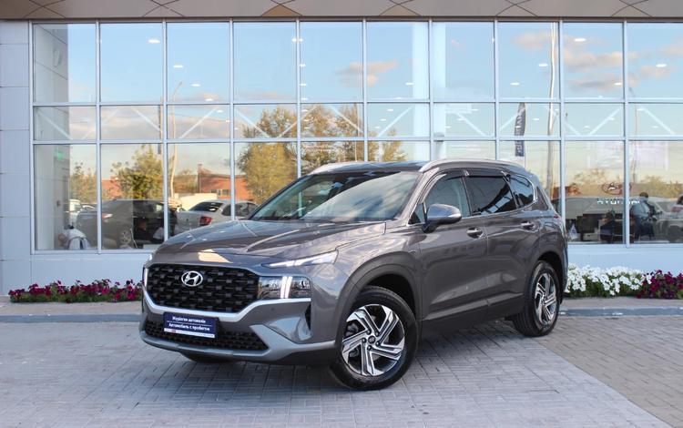 Hyundai Santa Fe 2021 года за 18 300 000 тг. в Нур-Султан (Астана)