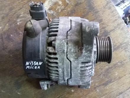 Генератор Nissan micra (92-02) за 15 000 тг. в Караганда – фото 2