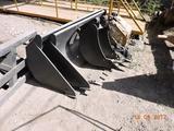 Узкий экскаваторный ковш для экскаватора погрузчика 0… в Алматы – фото 2