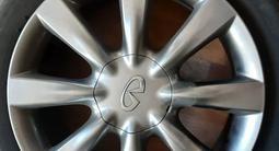 Bridgestone Blizzak r18 зима, шип, диски на инфинити r18 за 300 000 тг. в Байконыр – фото 3