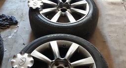 Bridgestone Blizzak r18 зима, шип, диски на инфинити r18 за 300 000 тг. в Байконыр – фото 5