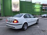 BMW 330 2001 года за 3 600 000 тг. в Алматы – фото 5