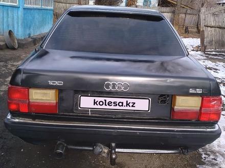 Audi 100 1990 года за 690 000 тг. в Талдыкорган – фото 2