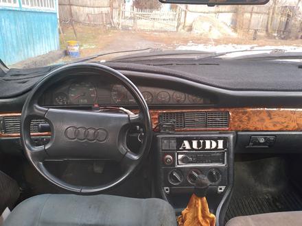 Audi 100 1990 года за 690 000 тг. в Талдыкорган – фото 4