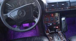 Mercedes-Benz S 420 1995 года за 2 325 000 тг. в Кентау – фото 5