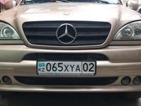 Тюнинг бампера Brabus для w163 ML Mercedes Benz за 70 000 тг. в Алматы