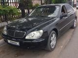 Mercedes-Benz S 320 2001 года за 3 300 000 тг. в Шу – фото 2