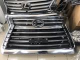 Lexus Lx 570 решетка радиатора б/у за 180 000 тг. в Актау – фото 4