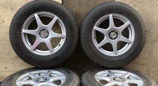 Диски с змней резиной уневерсальные Toyota, Subaru за 160 000 тг. в Алматы